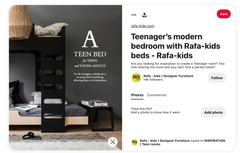 Pinterest product photography