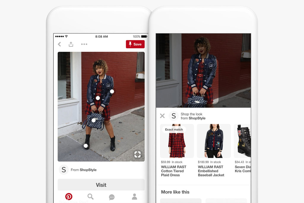 tag products in Pinterest Pin