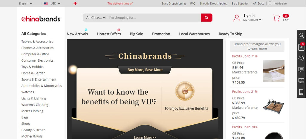 Dropship HomeDecor with Chinabrands