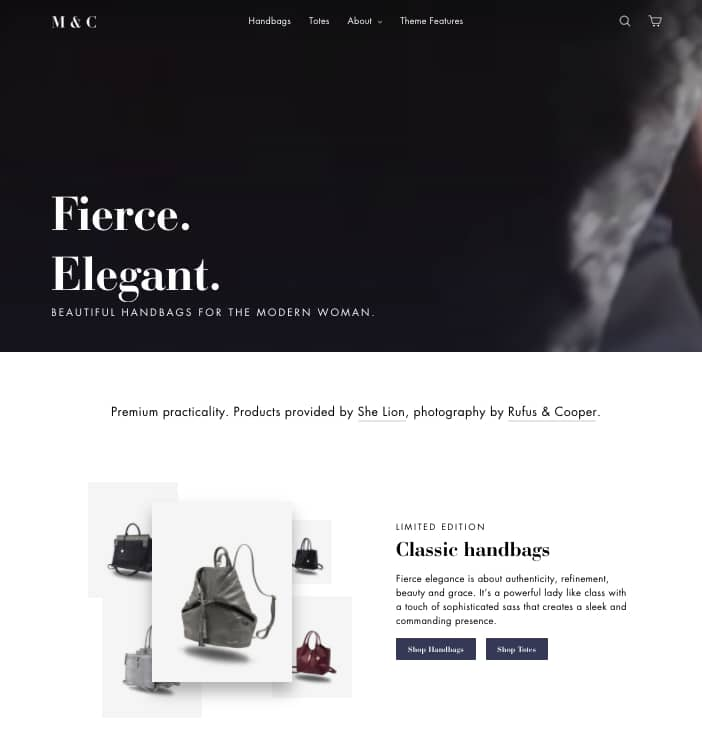 shopify motion theme elegant