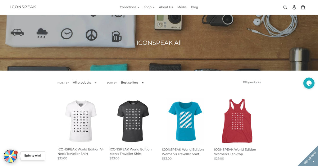 Example of Print On Demand Store
