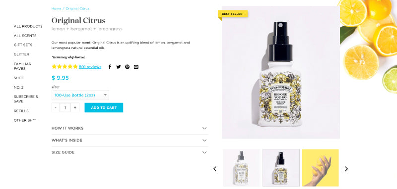 PooPouri Product Design