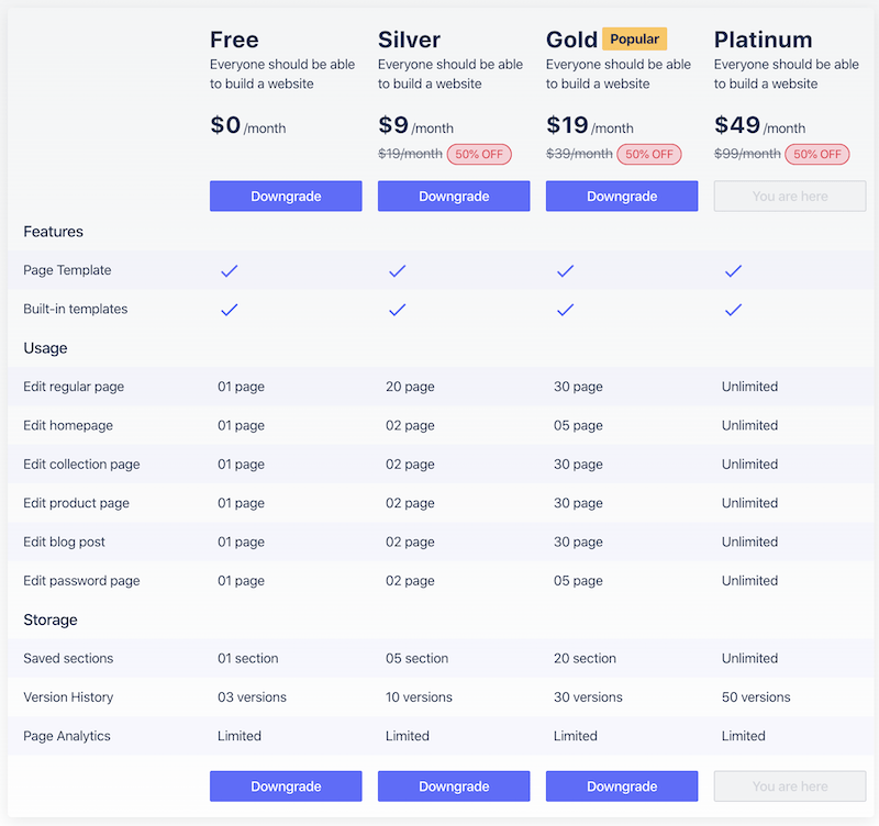 pagefly-new-pricing-model
