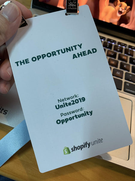 The UNITE badge Opportunity Ahead
