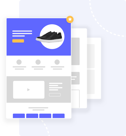 shopify page templates