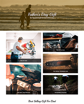 Father Day - Landing