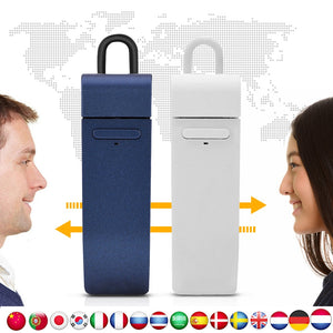 Smart Multi-Languages Instant Voice Translator  Earphone