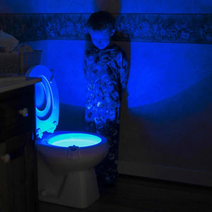 LED Toilet Seat Light Glow