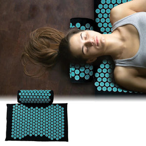 Acupressure & Relaxation Mat + Free Pillow