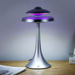 Unique Magnetic Levitation Bluetooth Stereo Speaker Lamp