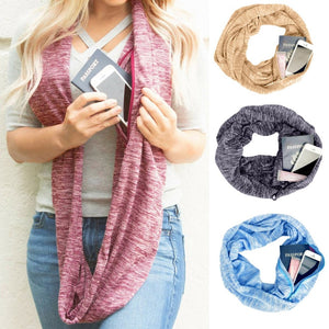 Unique Convertible Pocket Scarf