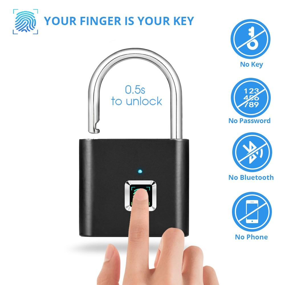 Smart Fingerprint Lock Anti-Theft