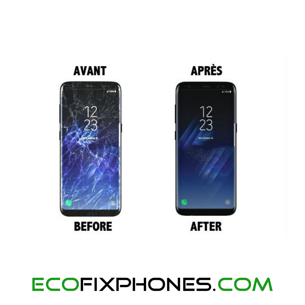Reconditionnement/swap écran Samsung Galaxy A8 2018