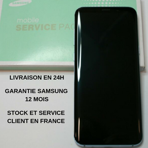 ECRAN SAMSUNG S9 G960F 100% ORIGINAL SERVICE PACK NEUF COMPLET AVEC CHASSIS