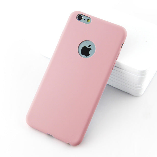 Housse de protection SOUPLE pour Iphone ROSE