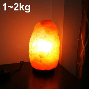 Himalayan Salt Rock Crystal - A Natural Air Purifier Jar Lamp - Highbrate - The Vibrate Higher Store