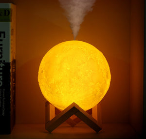 Moon Lamp Oil Diffuser and Humidifier - Highbrate - The Vibrate Higher Store