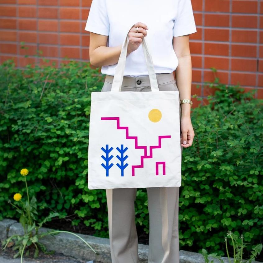 WLP Tote - landscape Freeset/WLP Bag - White Label Project