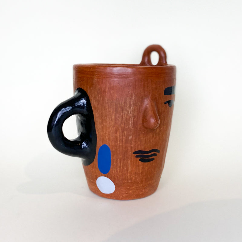 Señorcito Mug - black M.A Ceramics - White Label Project
