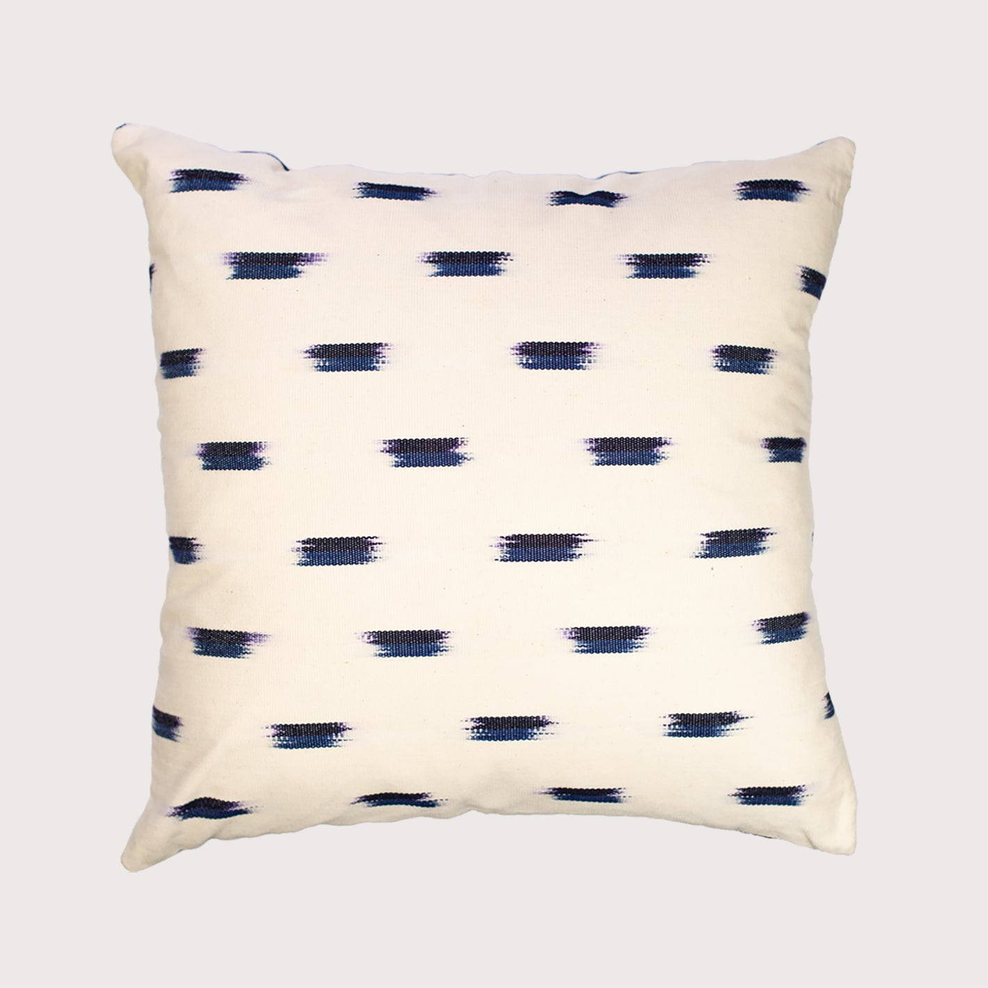 Ikat - blue dots Pixan Pillow - White Label Project
