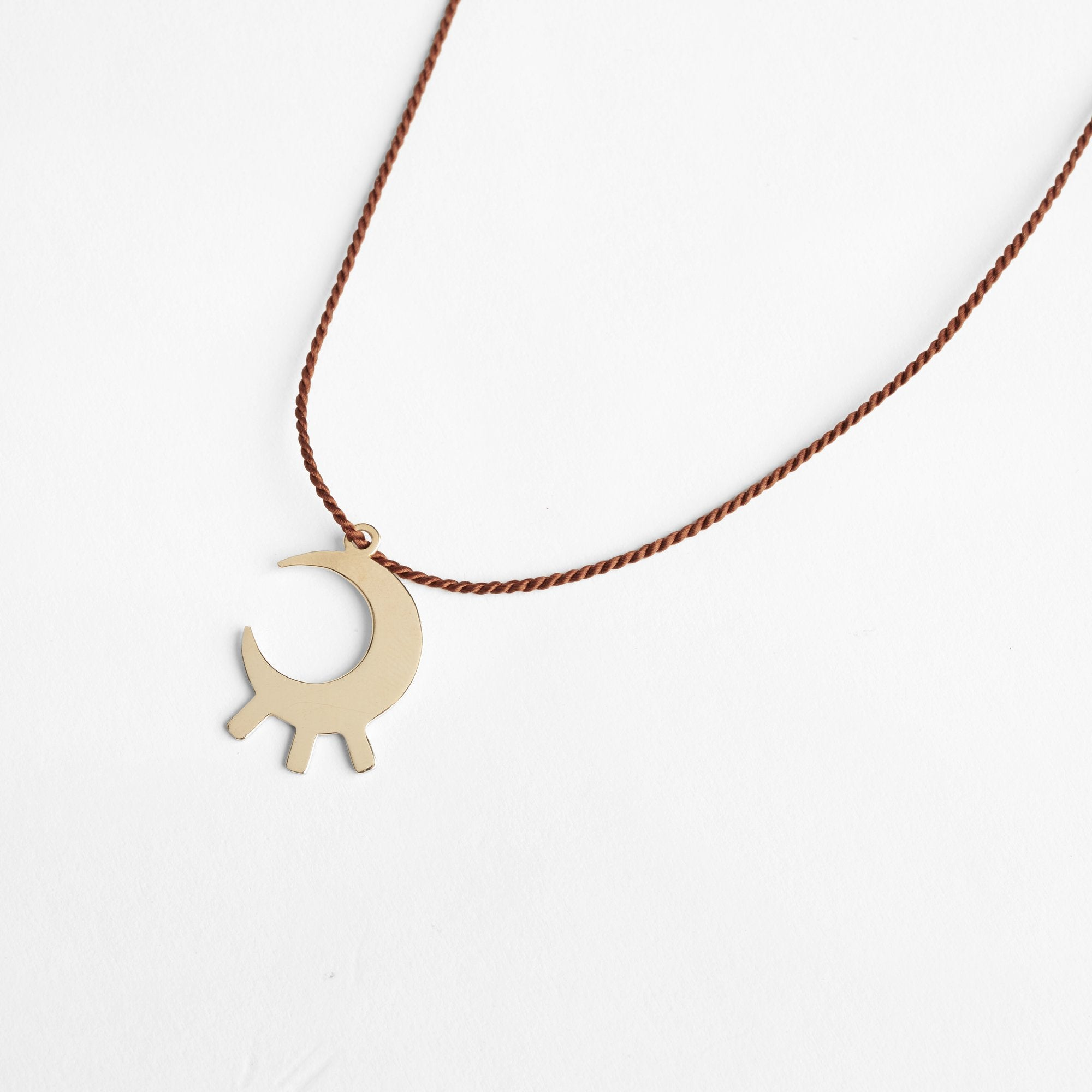 Moon Pendant Pichulik Necklace - White Label Project