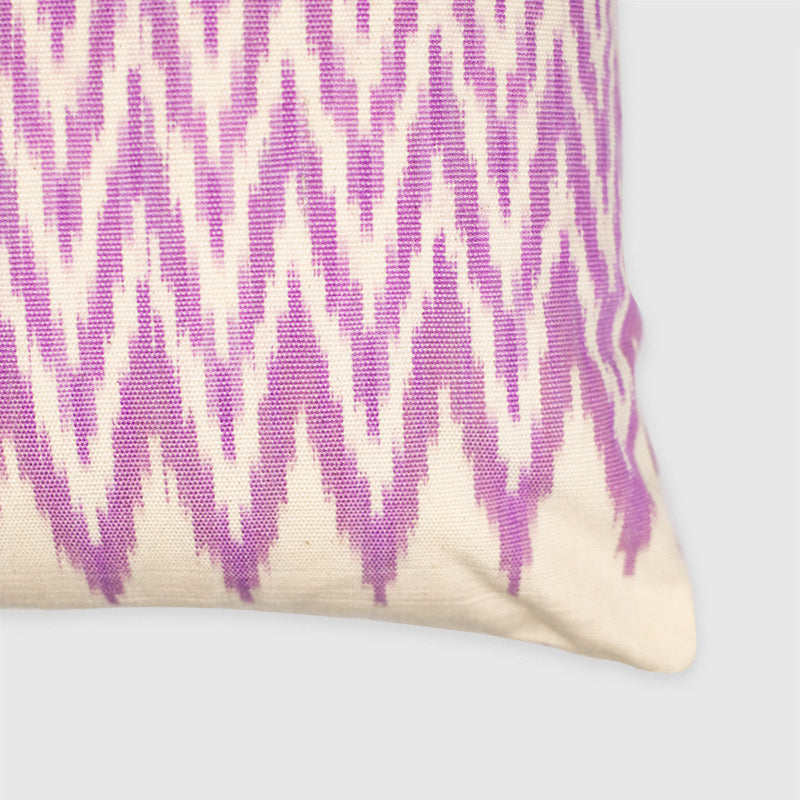Ikat - lilac Pixan Pillow - White Label Project