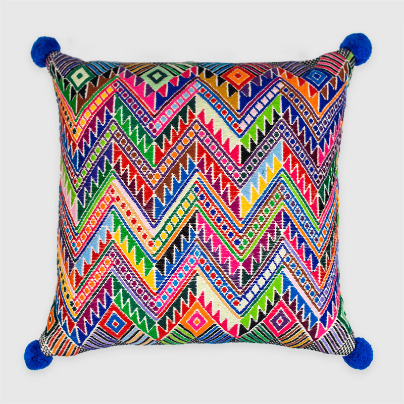B'atz' - rainbow Pixan Pillow - White Label Project