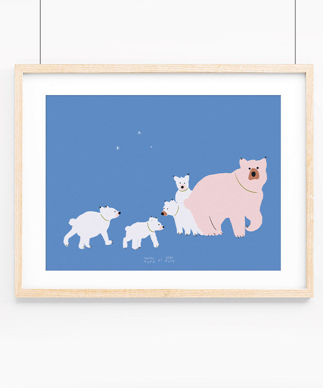 Maman Ours Art Print
