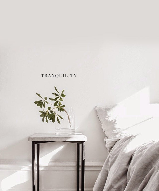 Tranquility Wall Decal