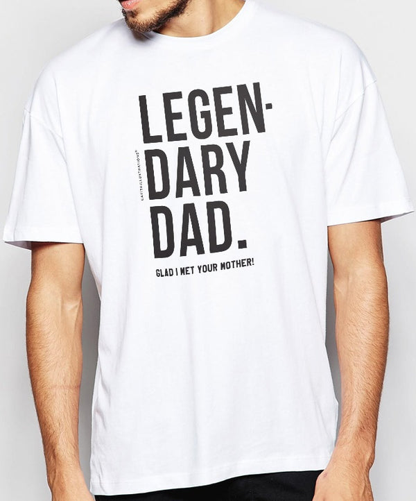 "T-Shirt ""Legendary Dad"""