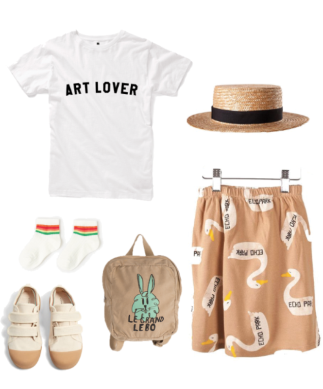 Art Lover Kids T-Shirt