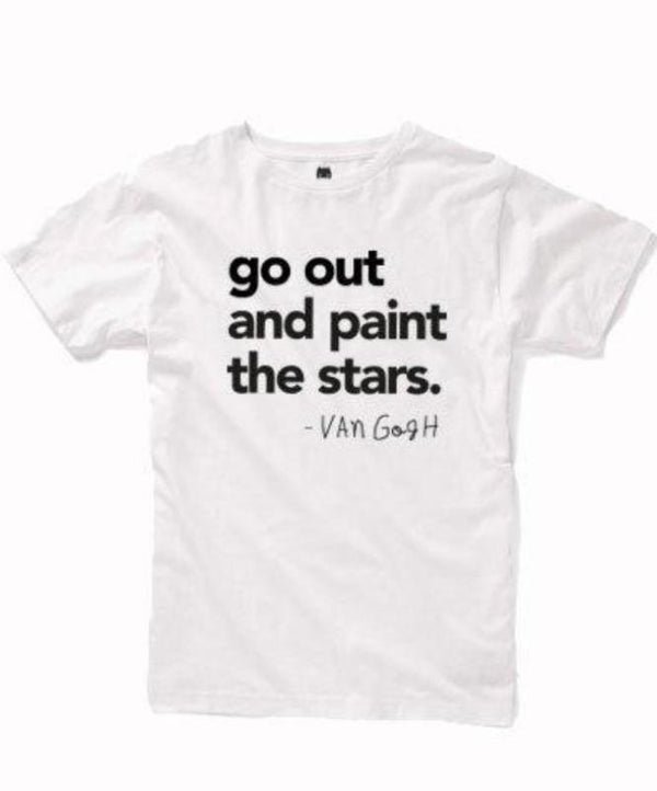 Go out and paint the stars