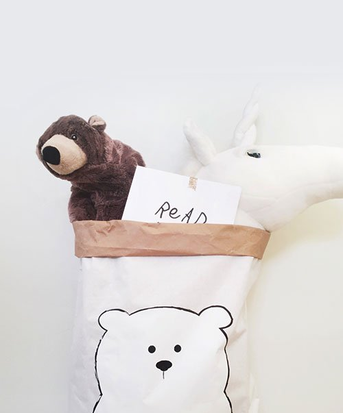 Big Paperbag Bear