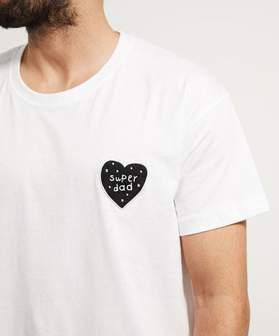 Super Dad Heart T-shirt