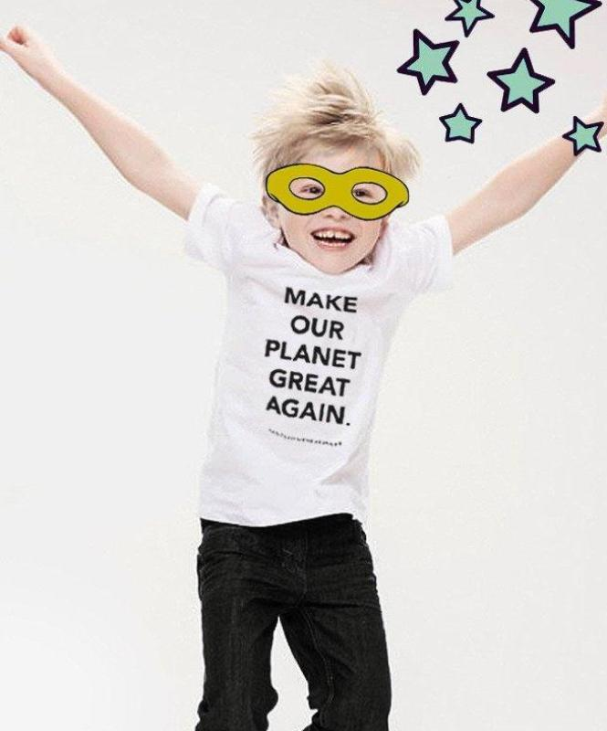 """Make our planet great again"" Kids"