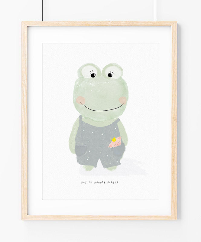 Magic Frog Art Print