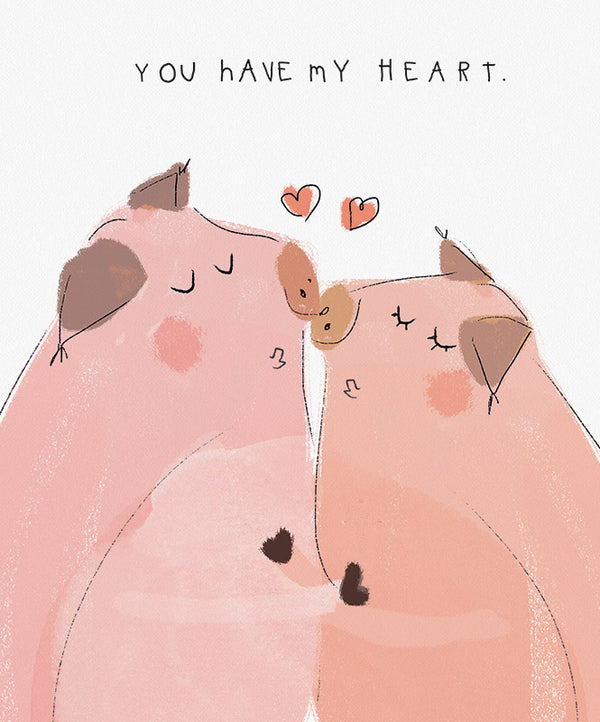 You have my heart Art Print