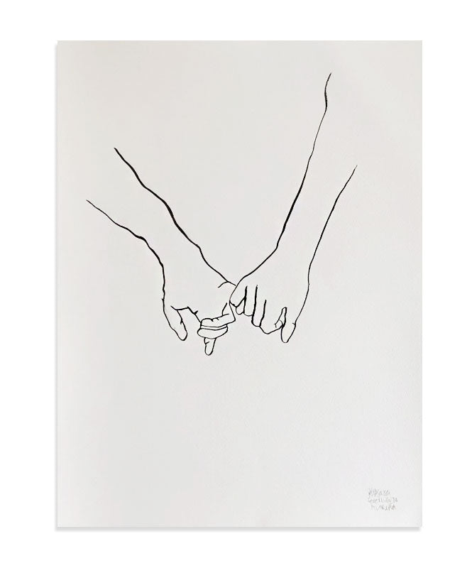Holding Hands 1 - Original Piece