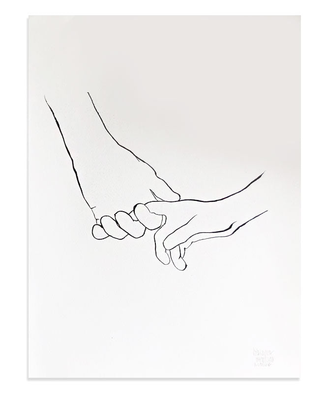 Holding Hands 2 - Original Piece