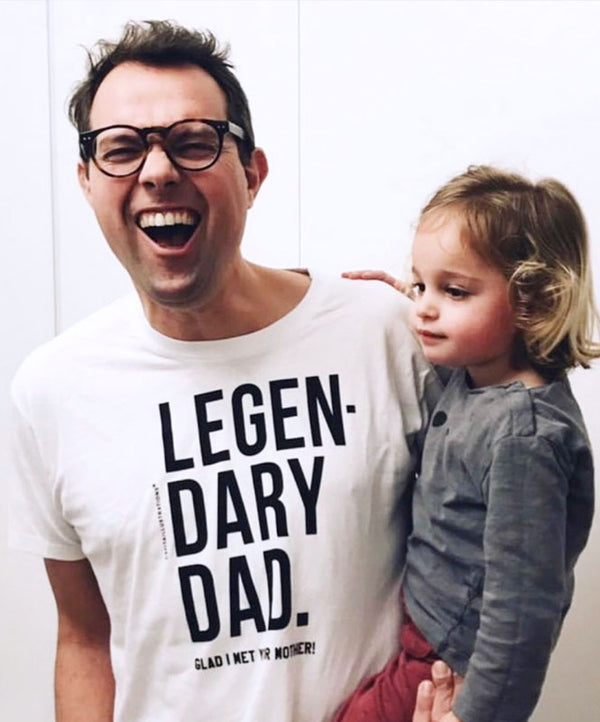 "Camiseta ""Legendary Dad"""