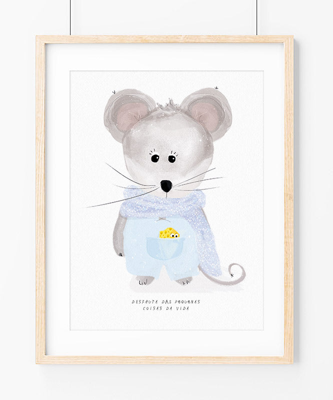 Little Mouse Art Print