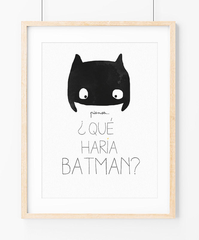 Mini Bat Art Print