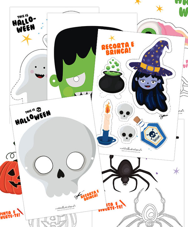 Halloween Printable Pack 2020