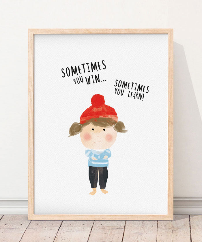 Sometimes you win...  Art Print