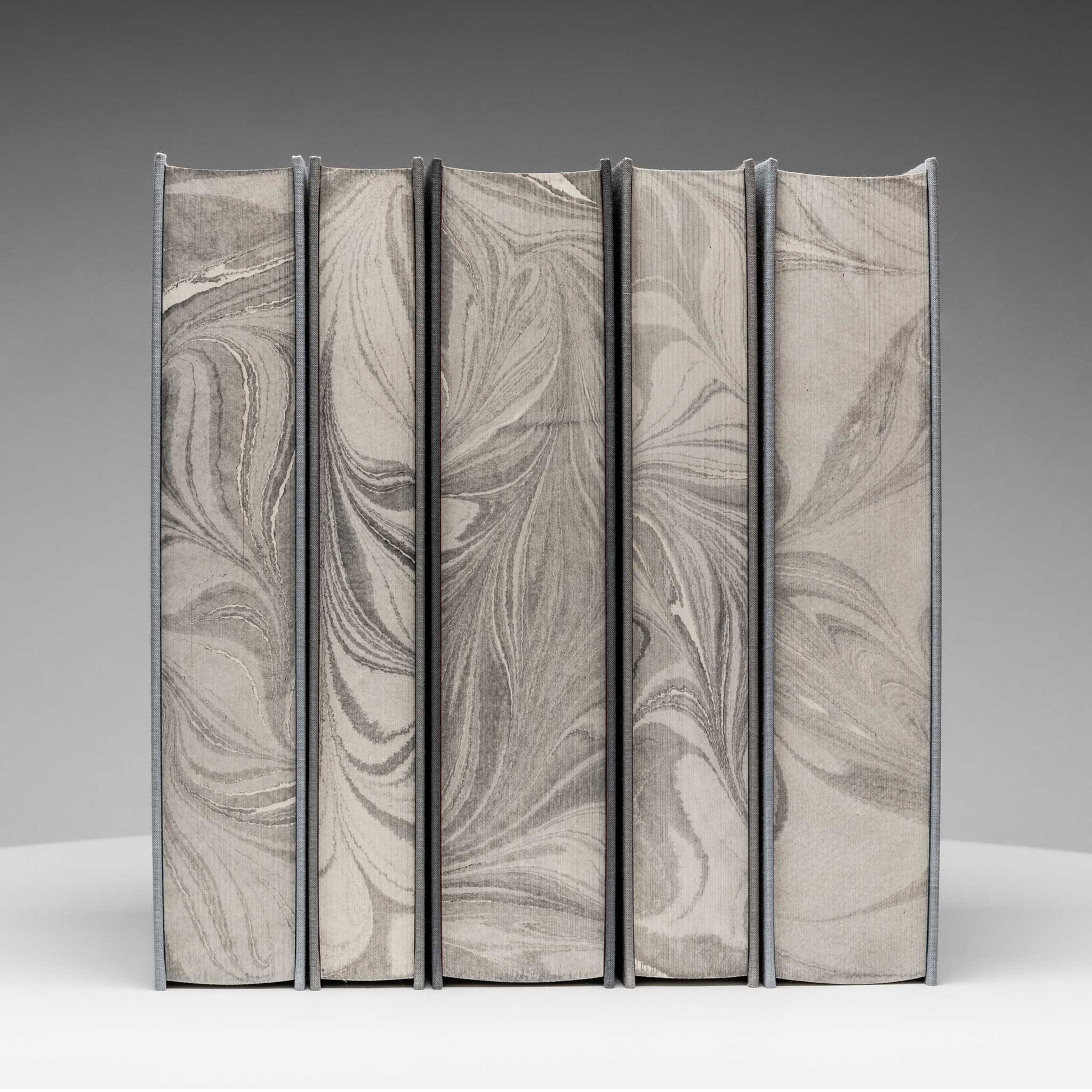 Limited Edition: Grayscale Covers with Marbled Edges
