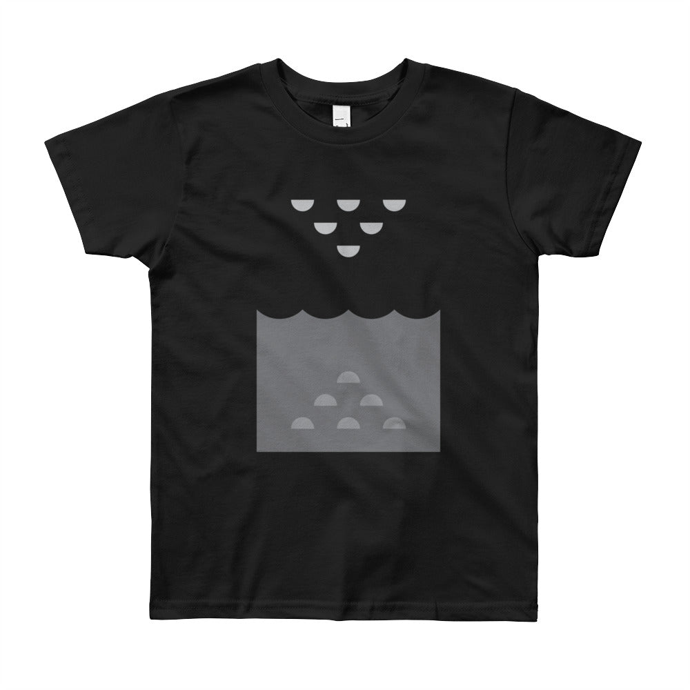 Day 5 Youth T-shirt: Grayscale