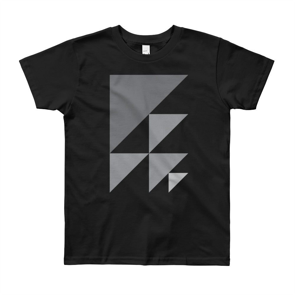 Day 1 Youth T-shirt: Grayscale