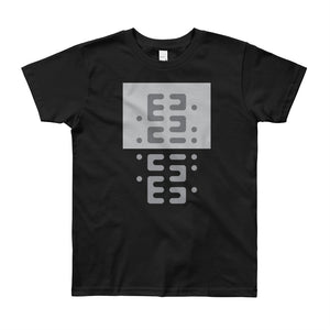 Day 6 Youth T-shirt: Grayscale