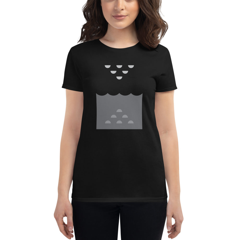 Day 5 Women's T-shirt: Grayscale