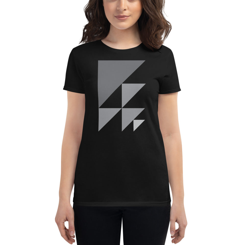 Day 1 Women's T-shirt: Grayscale